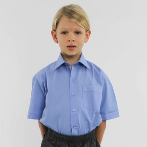 Primary Boys Short Sleeve Shirt