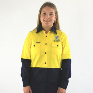 Newman Ladies Hi Vis Trade Shirt