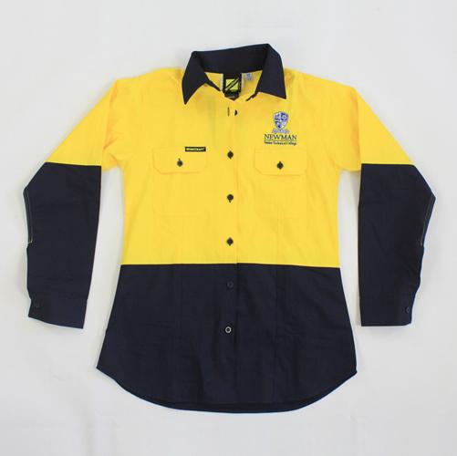 Newman Ladies Hi Vis Trade Shirt