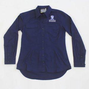Newman Ladies long Sleeve Trade Shirt