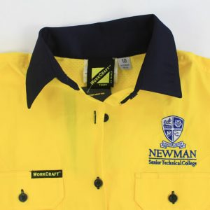 Newman Mens Hi Vis Trade Shirt