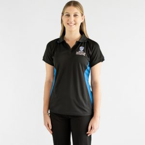Newman College Girls Black Polo